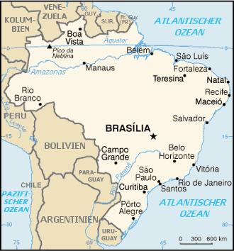 Malaria und Dengue Fieber in Brasilien